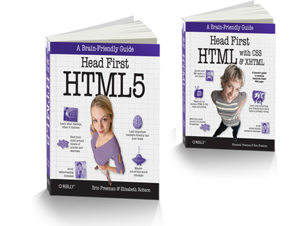 HTML is dead, long live Head First HTML