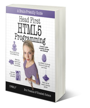 Head First HTML5 Programming goes to the printer